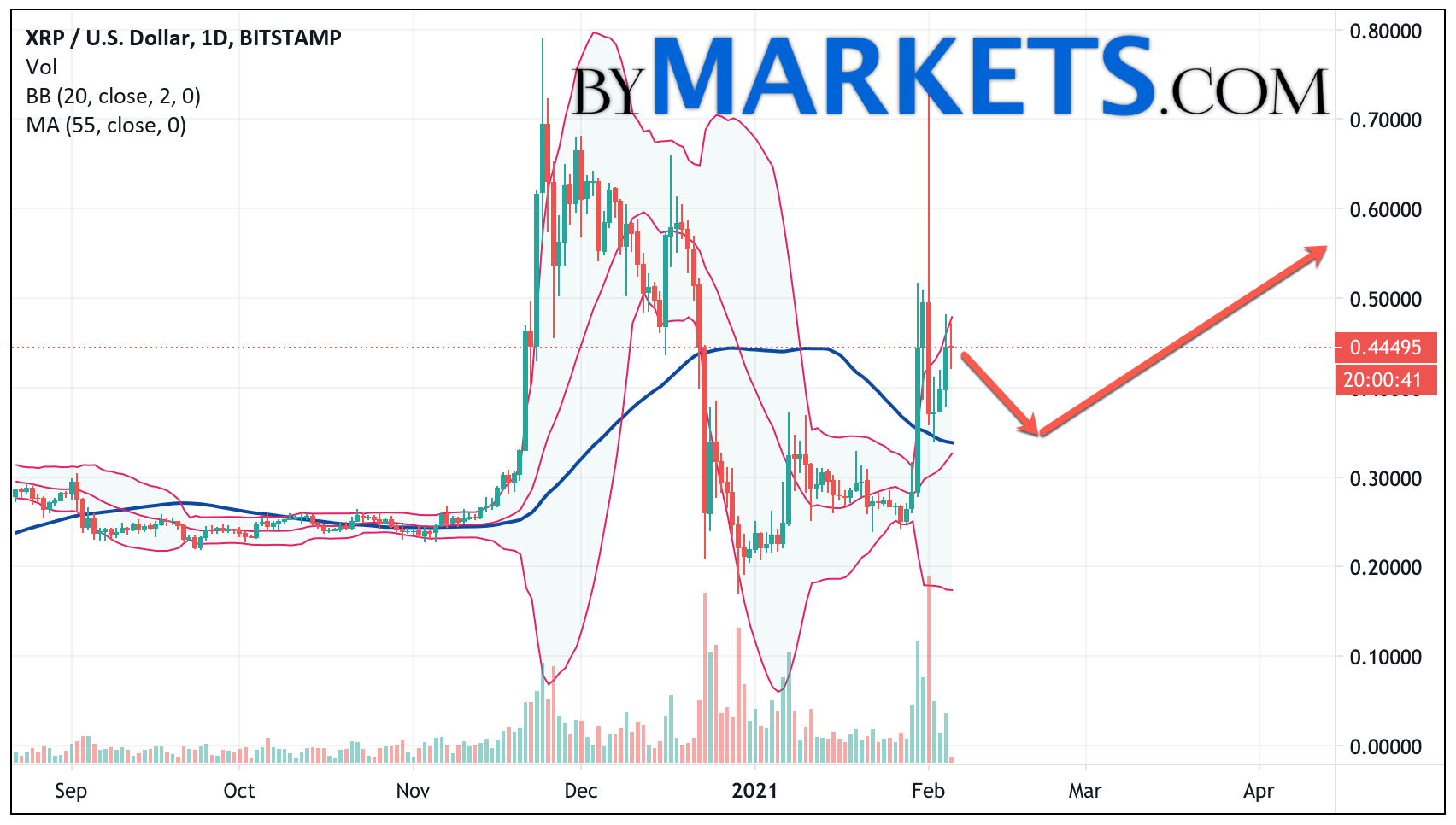 Ripple (XRP/USD) forecast on February 8 — 14, 2021