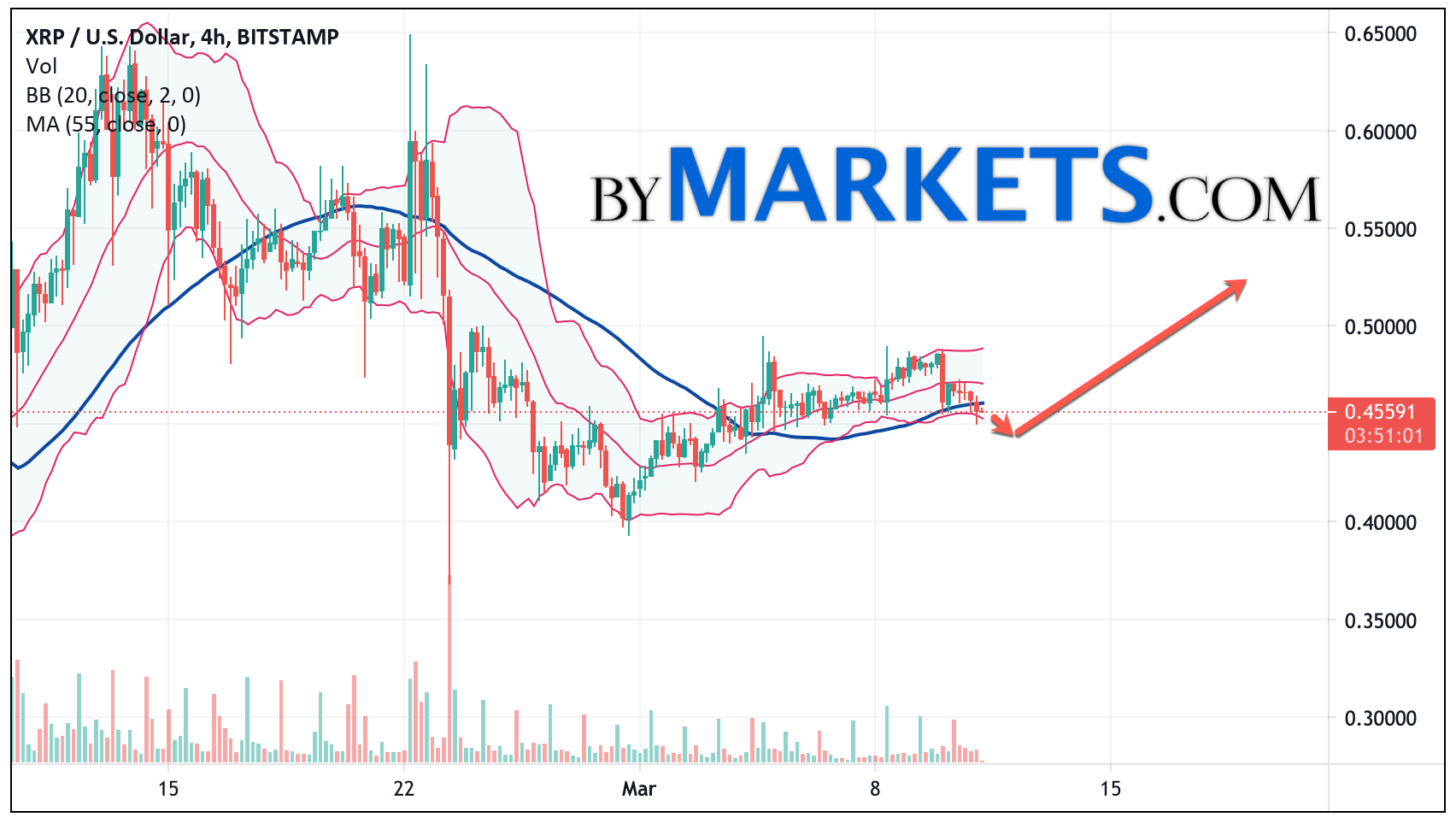 Ripple (XRP/USD) forecast and analysis on March 12, 2021